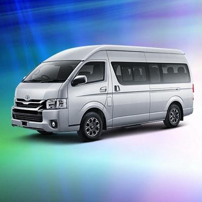 Toyota Hiace Commuter - Sewa Mobil Hiace di Bali Murah, Mini Bus Keluarga, Rombongan, Perkantoran, Perusahaan
